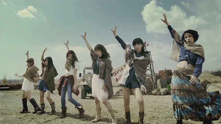 KAMEN RIDER GIRLS「Girls be Ambitious」MV